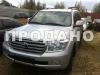 Аварийный Toyota Land Cruiser 200 - Тойота Ленд Круизер 200 (2011 г.в.)